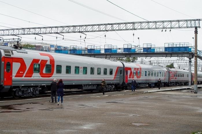 Поезд из Томска в Новосибирск отменен