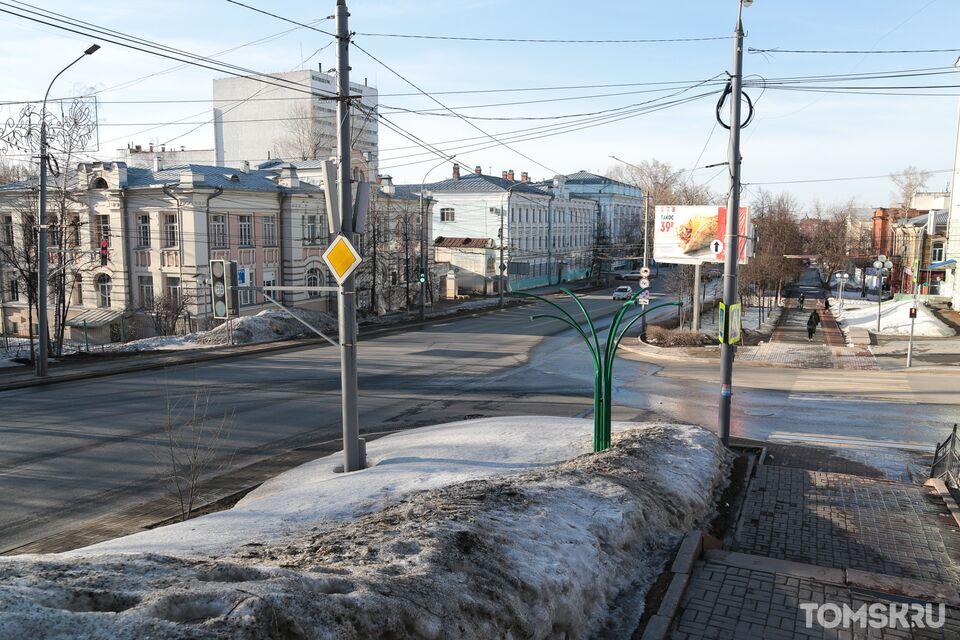 Дневной Томск в самоизоляции: фоторепортаж