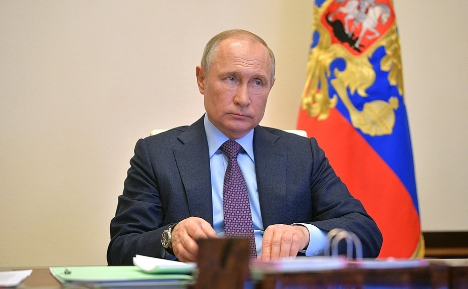Путин объявил о завершении нерабочих дней