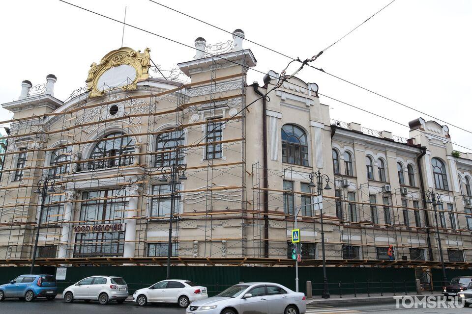 «Пассаж Второва»: как ремонтируют одну из визитных карточек Томска