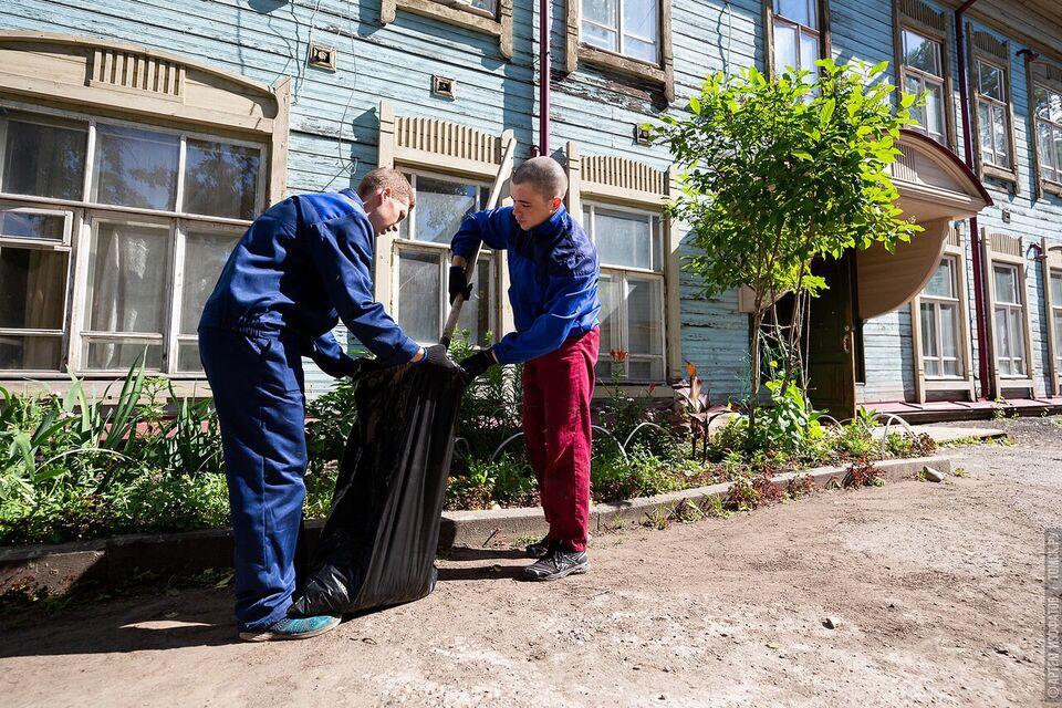 Лето благоустройства: в Томске стартовала работа студенческих отрядов