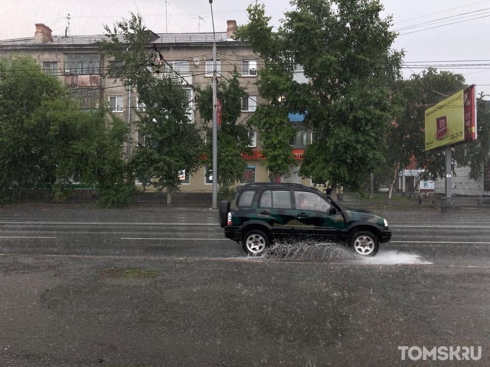 Томичей снова предупреждают об ухудшении погоды
