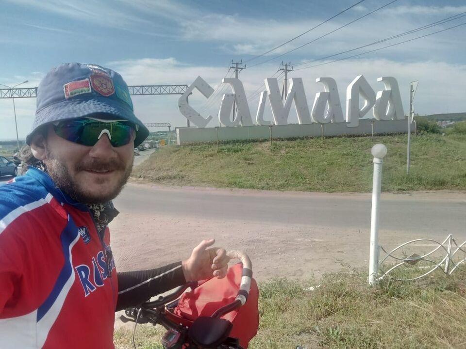 Около 4000 километров проехал на велосипеде школьный учитель из Томской области