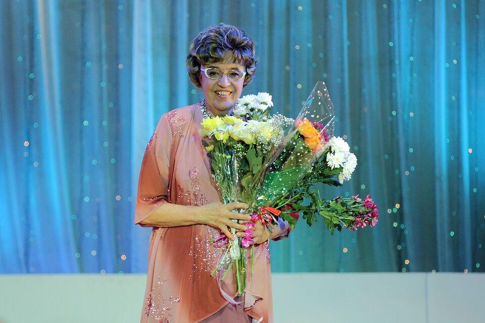 Северской поэтессе Галине Семичевой вручили медаль «Анна Ахматова 130 лет»