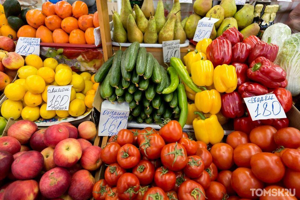 Томичам рассказали, как правильно мыть фрукты и овощи