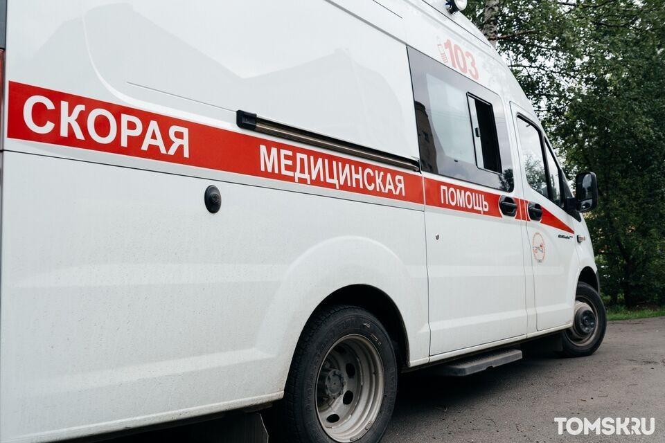 Маршрутный автобус попал в ДТП на томской трассе