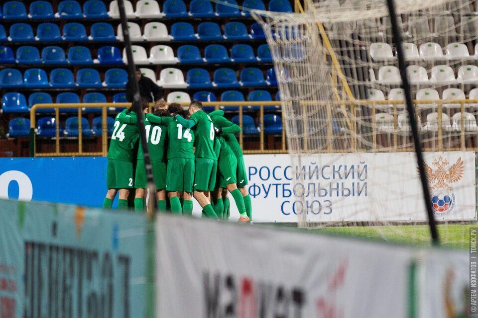 «Томь» в первом туре ФНЛ сыграет с «Нижним Новгородом» в гостях