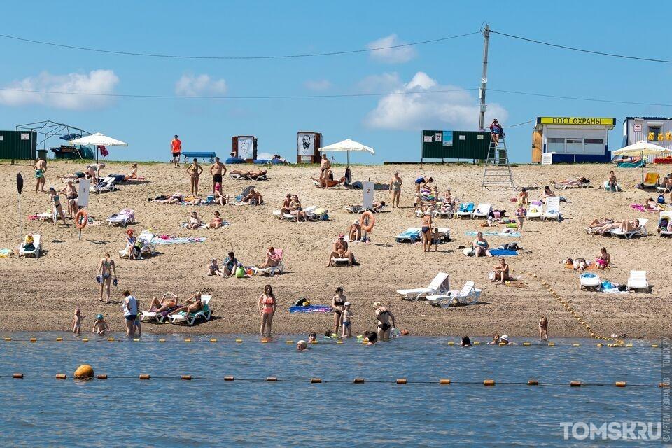 Более 10 томских водоемов безопасны для купания, не прошли проверку только места на Томи
