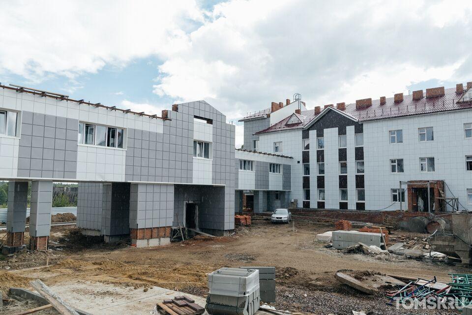 Строительные работы в новых корпусах дома-интерната в Итатке должны завершиться к концу 2020 года