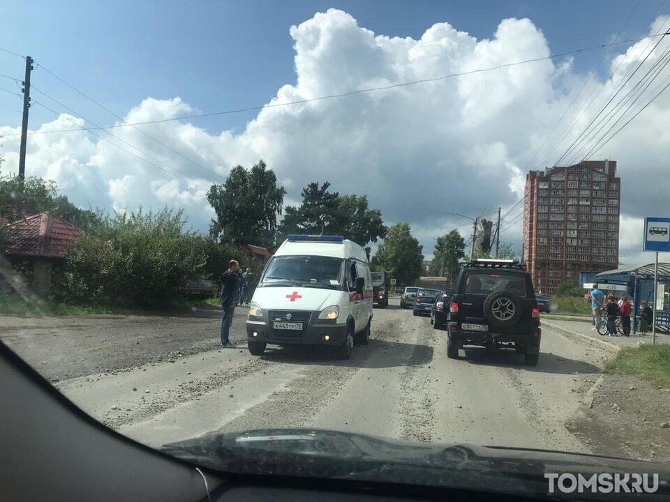 ДТП: очевидцы сообщают о сбитой женщине на Степановке