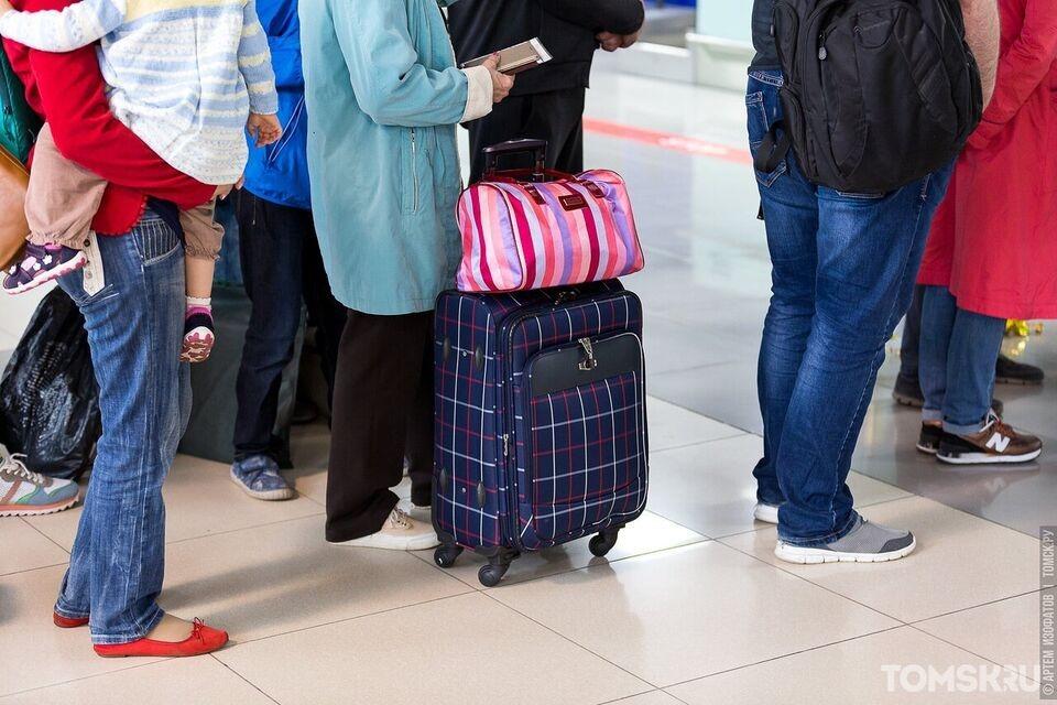 В томском аэропорту возобновились рейсы до Кызыла