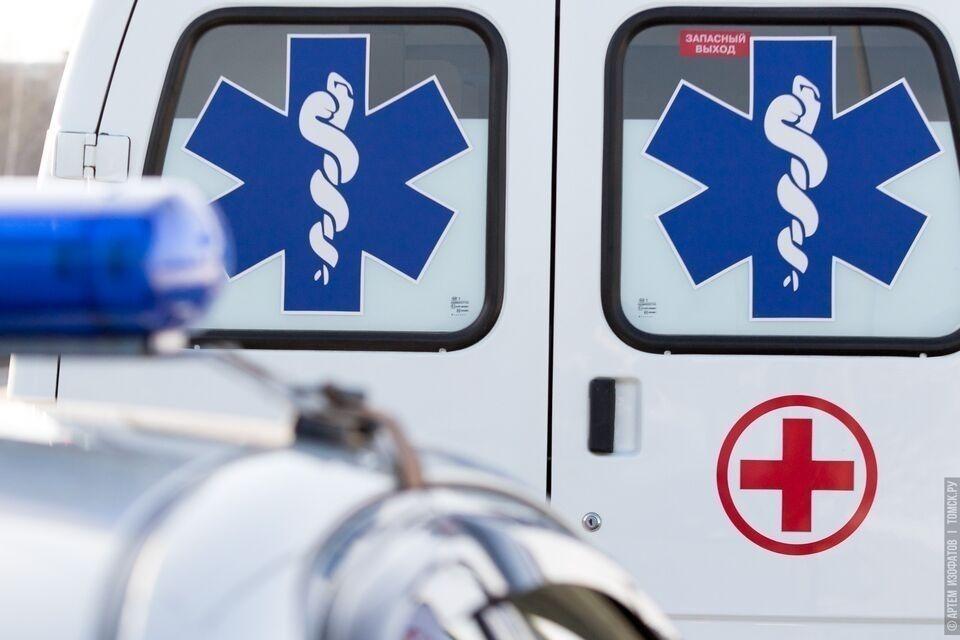 Мужчина попал в больницу после ДТП на трассе Томск-Колпашево