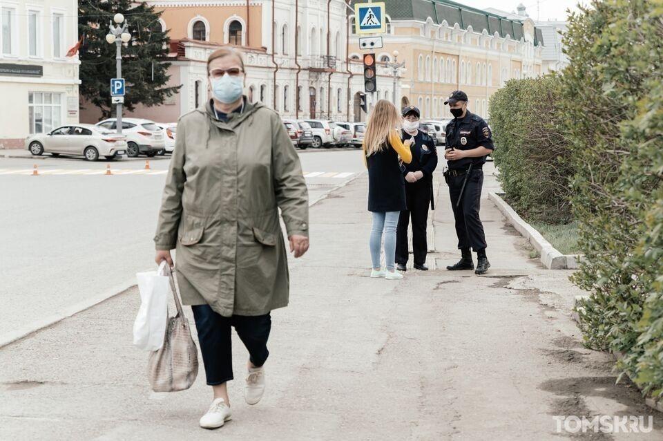 Даже в лес в маске: сибиряков штрафуют за нарушение режима