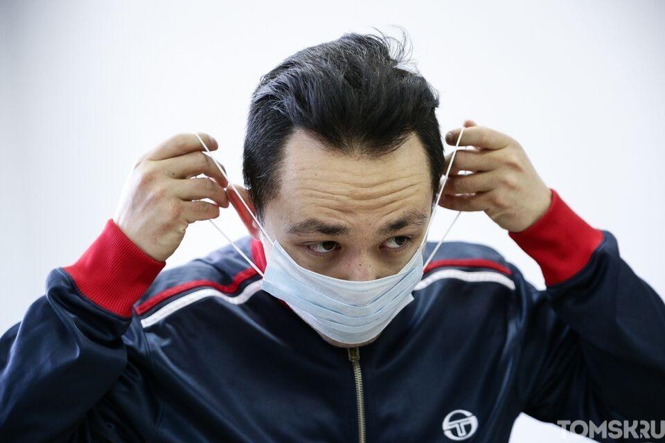Томичей призвали поучаствовать во всемирной неделе ношения масок