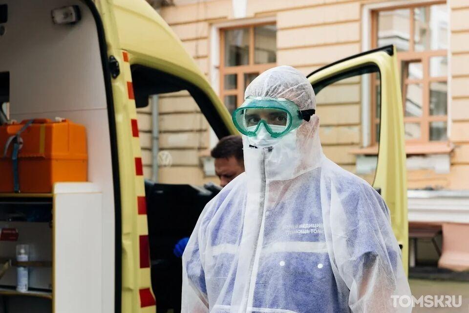 Две смерти от COVID-19 в Томской области подтвердили в федеральном оперштабе