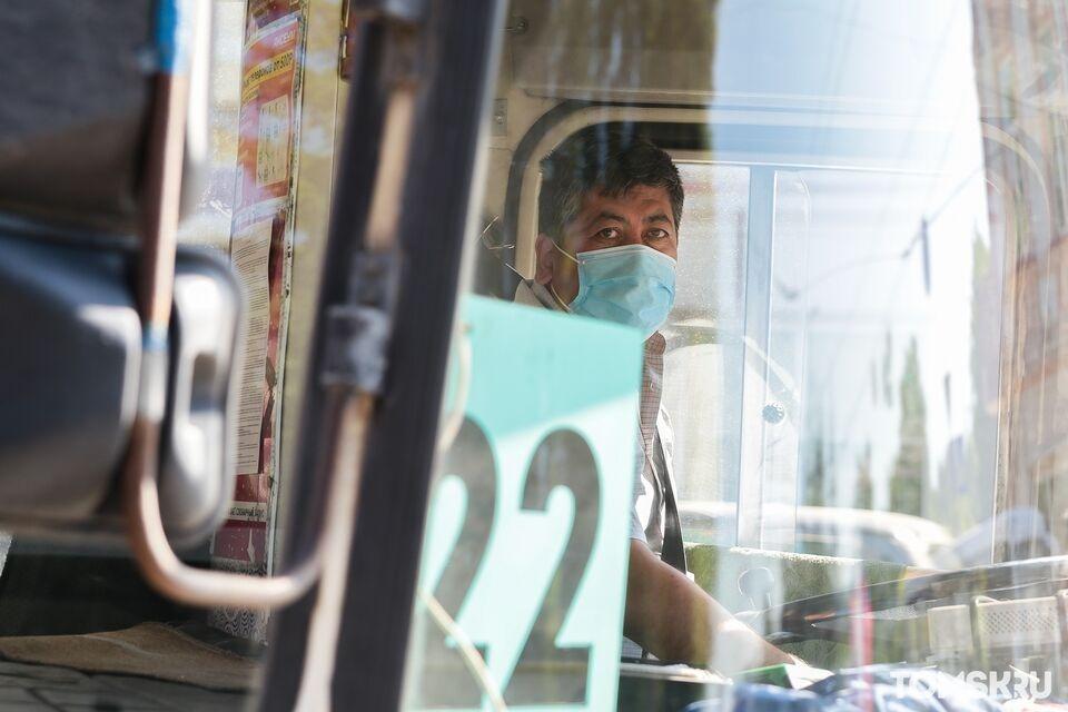 Мэр Томска поручил усилить контроль за ношением масок в автобусах