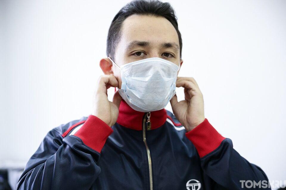 Томичи переживают за утилизацию медицинских масок