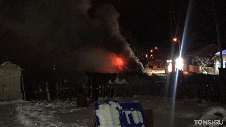 Очевидцы: Степановку заволокло дымом из-за пожара