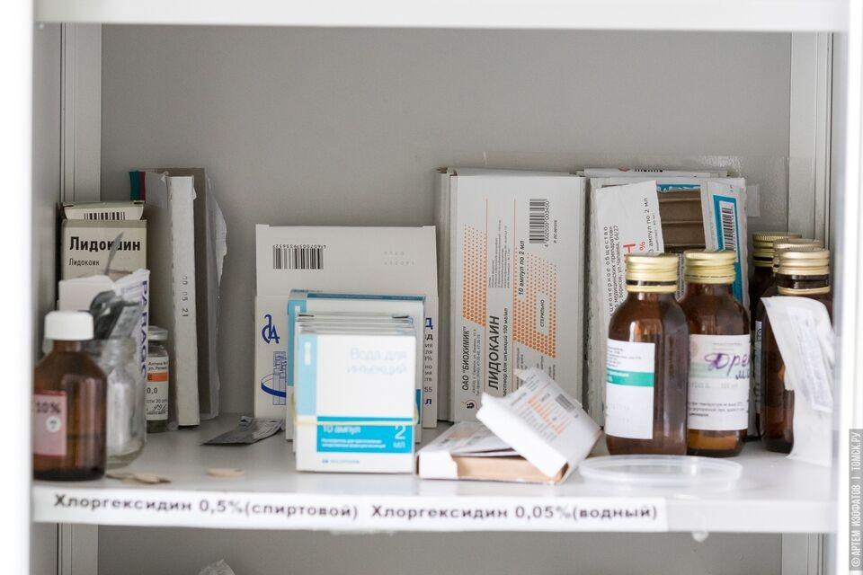В Томске началась раздача бесплатных наборов с лекарствами для больных Covid-19