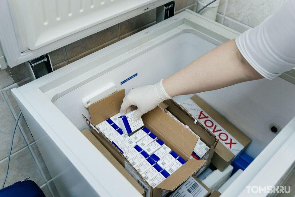Томичи смогут заранее записаться на бесплатную прививку от коронавируса