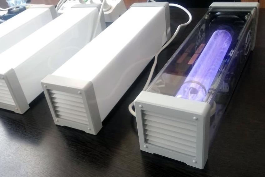 С нового года в Томске наладят производство ламп для борьбы с COVID-19