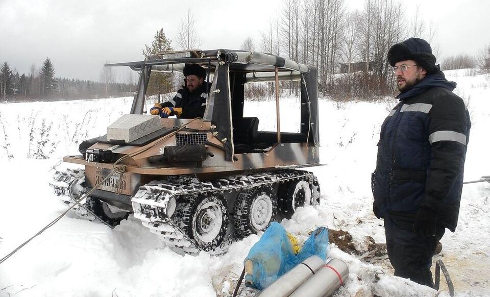 Ученые Томского госуниверситета впервые в России очистят водоем от нефти зимой