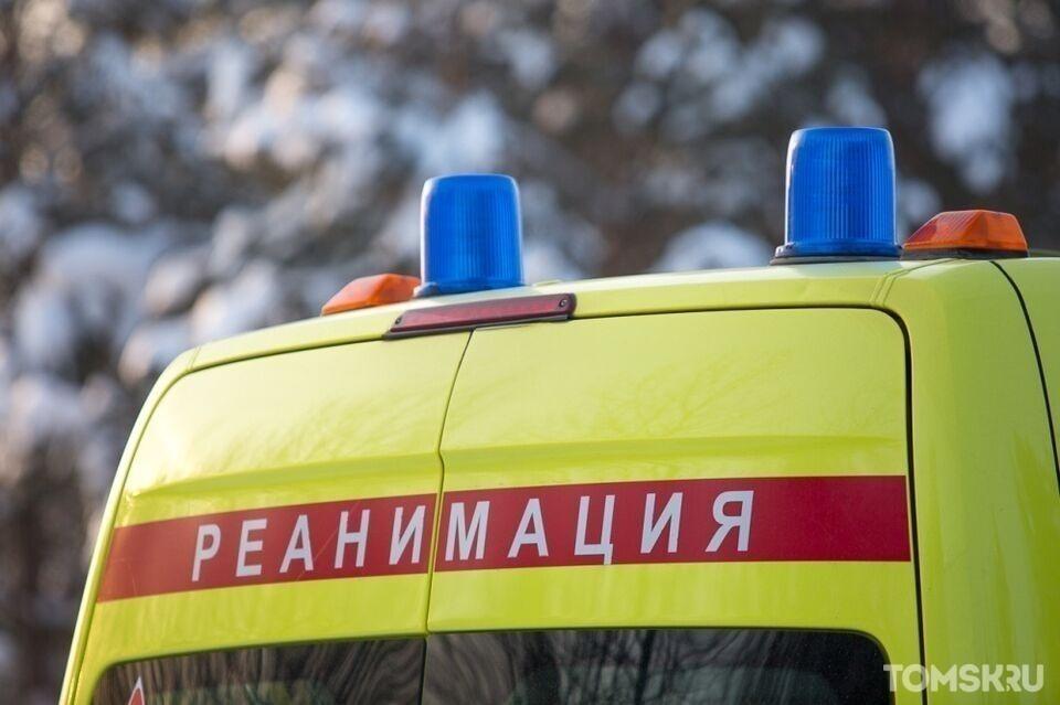 Женщина пострадала при столкновении двух авто на томской трассе