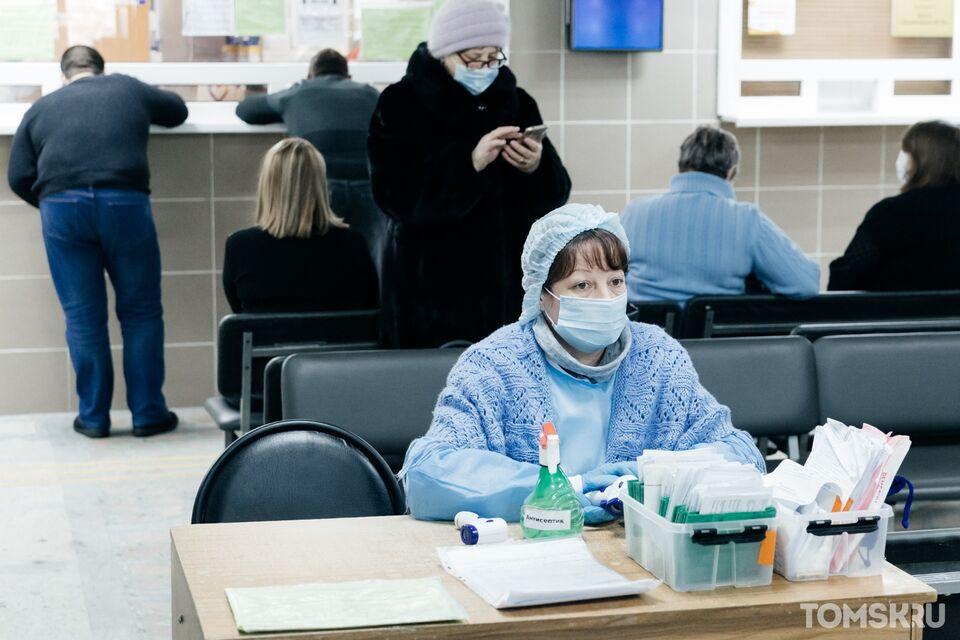Еще 54 жителя Томской области заразились коронавирусом