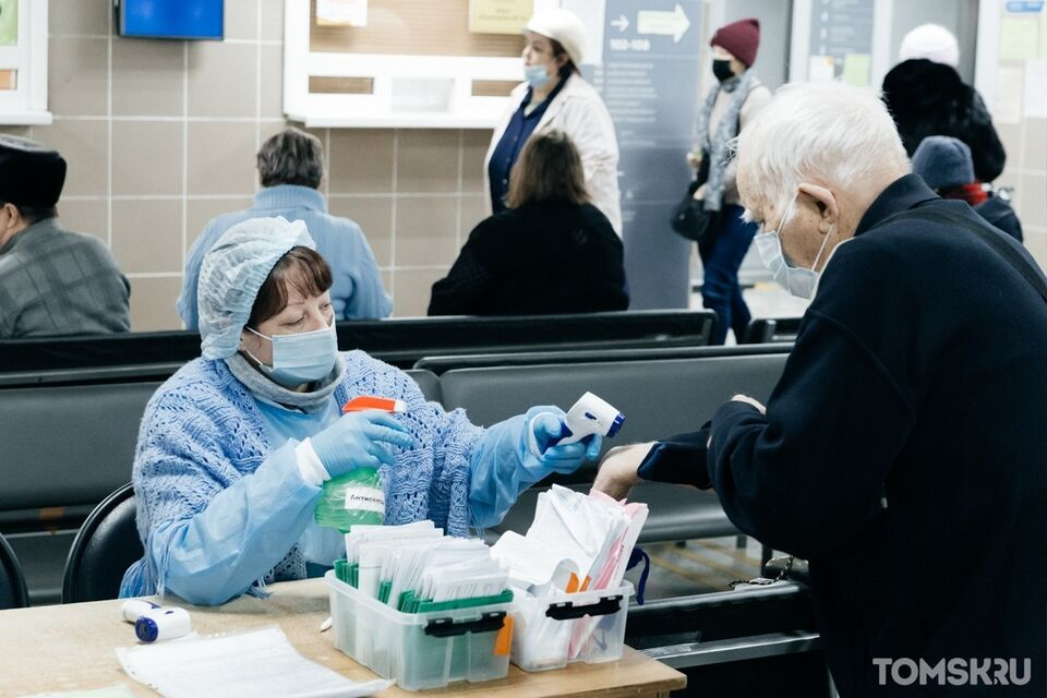 В Томской области обнаружили 28 новых случаев заражения COVID-19