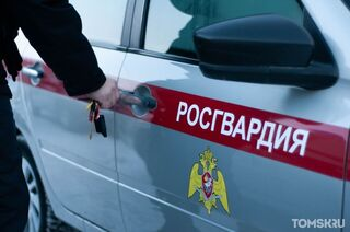 Томский росгвардеец помог найти угнанную машину