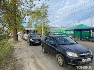 Пешком быстрее: томичи снова рискуют «застрять» в пробках на двух переездах в Томске