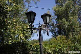 В сквере возле МКЦ ТПУ срезали «умные» фонари