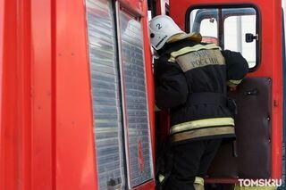 Жительница Томской области пострадала во время пожара в Шегарском районе