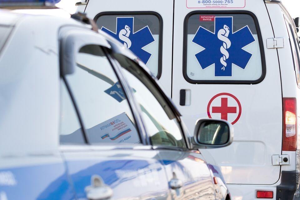 Три автомобиля столкнулись  в Томске, есть пострадавший