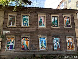 Вторая жизнь томских «деревяшек»: смелый арт-проект жителей города