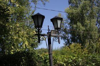 Томичи просят отремонтировать фонари на «Тропе здоровья»