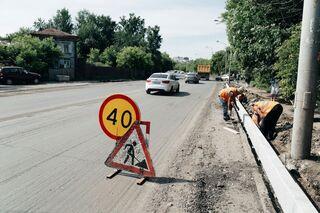 Ремонт нецентральных дорог Томска завершился в этом сезоне