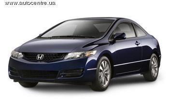Обновленное купе Honda Civic