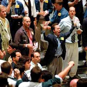 Торги акциями на Фондовом рынке РТС приостанавливаются на 1 час