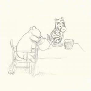 Лондонский аукцион Bonhams продал с молотка карандашный эскиз Эрнеста Шепарда, изображающий персонажа детской книги Винни-Пуха и его друзей, за $50 тыс. Кроме того, лондонский аукцион Sotheby в декабре планирует продать еще несколько работ мастер, создавшего визуальный образ медвежонка Пуха.
