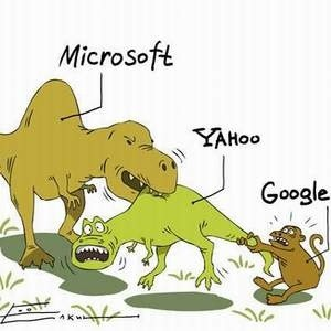Microsoft отказалась заключать соглашение  о покупке компании Yahoo, вслед за поисковым гигантом Google, прервавшим переговоры о сотрудничестве.