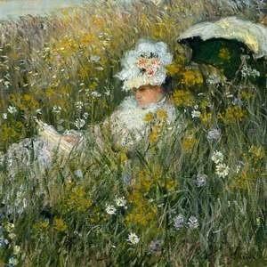 """Полотно Клода Моне """"Dans La Prairie"""" (""""На лугу"""") было оценено домом Christie''s в $22 миллиона. Написанная в 1876 году работа будет выставлена на лондонские торги 4 февраля."""
