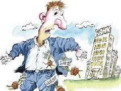 """Минэкономразвития уже не первый год предлагает разрешить гражданам, которые погрязли в долгах объявить себя банкротом. Несмотря на это законопроект не может дойти до Госдумы. В новой версии законопроекта, даже слово """"банкротство"""" заменили """"реабилитацией""""."""