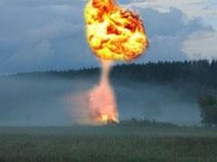 Взрыв произошел в Косовогорском районе на магистральном газопроводе Торжок-Ухта.