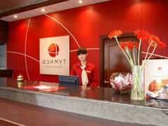 """AZIMUT Hotels Company подписала договор на управление отелем """"Новый берег"""", срок договора - 20 лет. Отель расположен в 7 км от Москвы на берегу Пироговского водохранилища. Это первый загородный отель под управлением AZIMUT Hotels Company."""